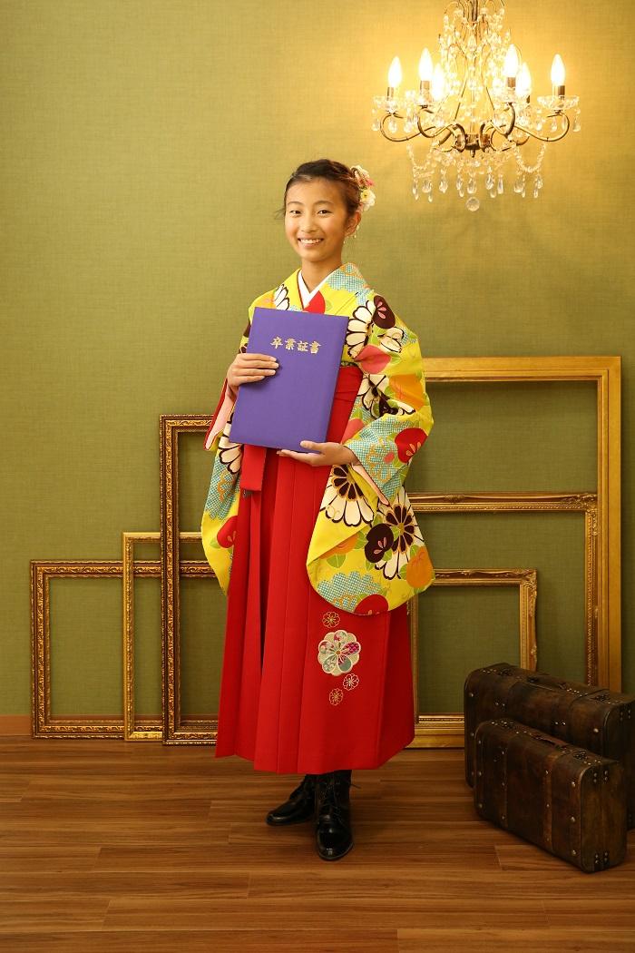 マリリンハウスの着物-348 / 袴-224 kansai