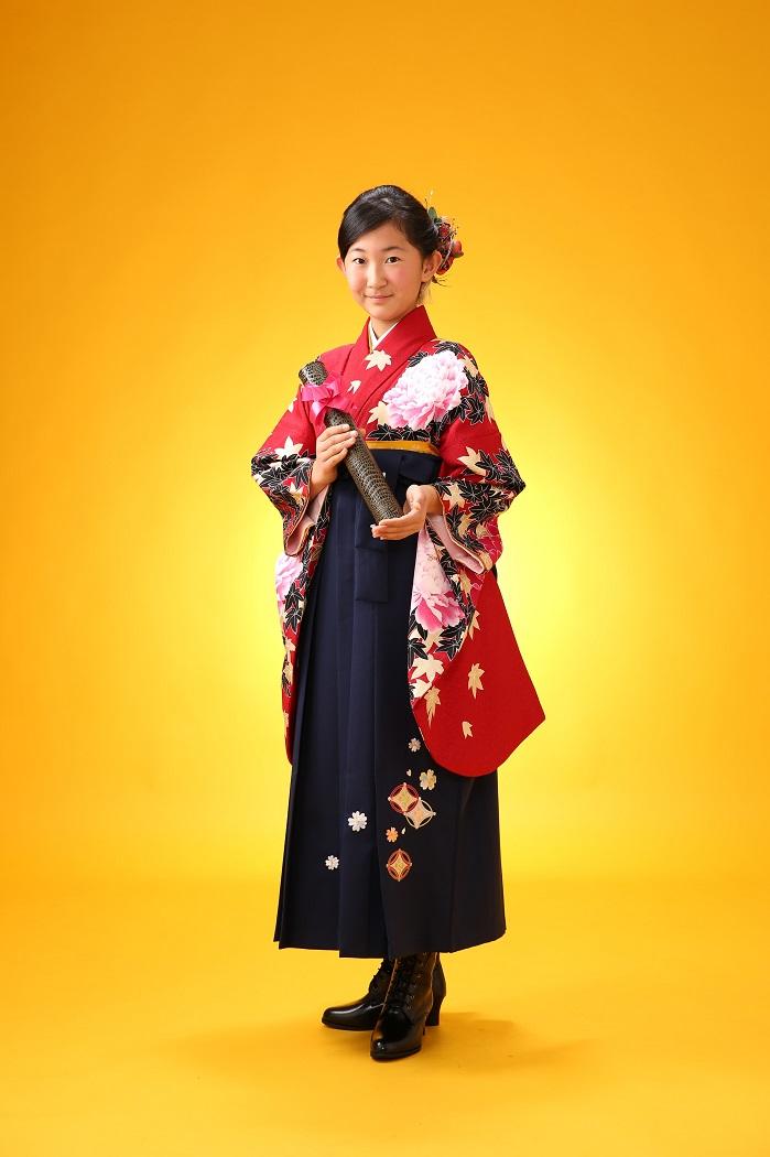マリリンハウス 着物-308 トリンドル/袴-241