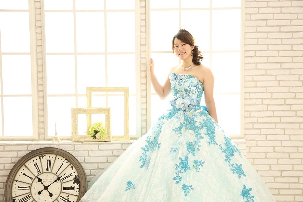 スタジオメルシーのカラードレス