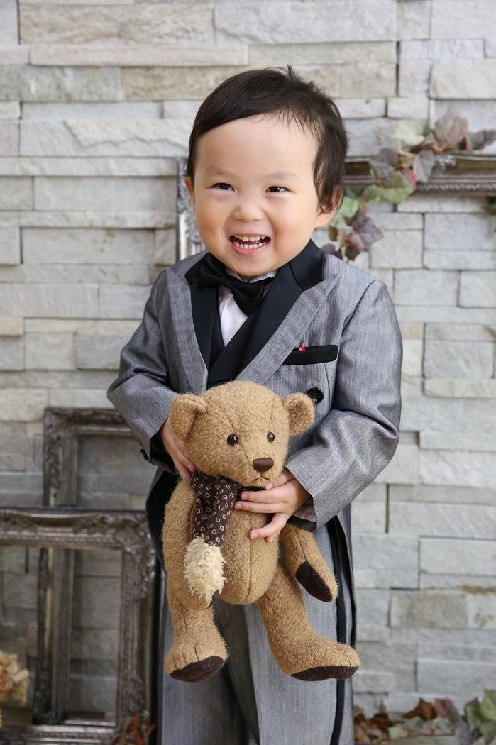 スタジオメルシーの男児スーツ